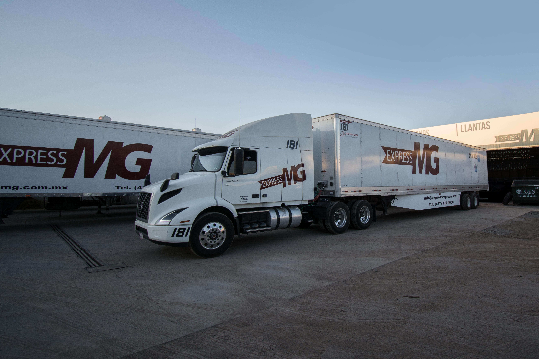 Volvo VNR se integra a la flota de Express MG