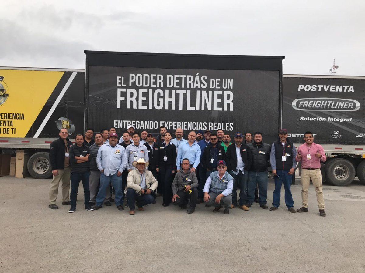 Daimler Trucks fortalece postventa en el norte del país