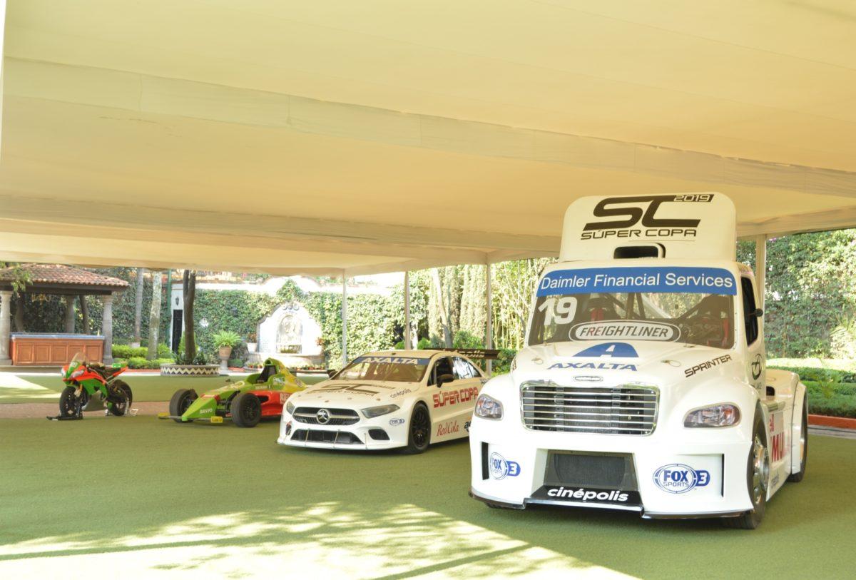 Daimler, por la Súper Copa 2019 con M2 y Clase A