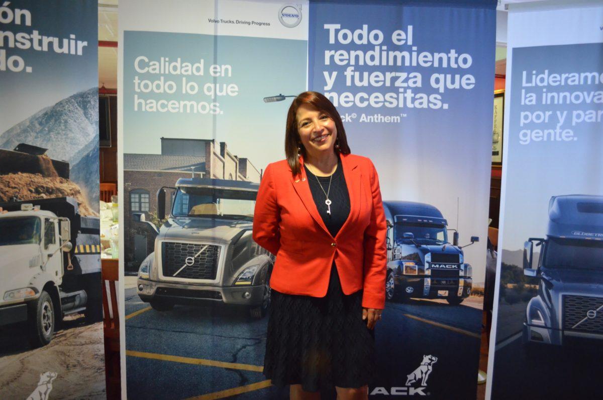 Luz Elena Jurado asume la dirección de Volvo y Mack Trucks en México