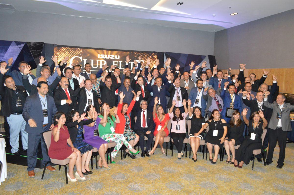Club Elite 2018: Isuzu reconoce a lo mejor de su fuerza de ventas