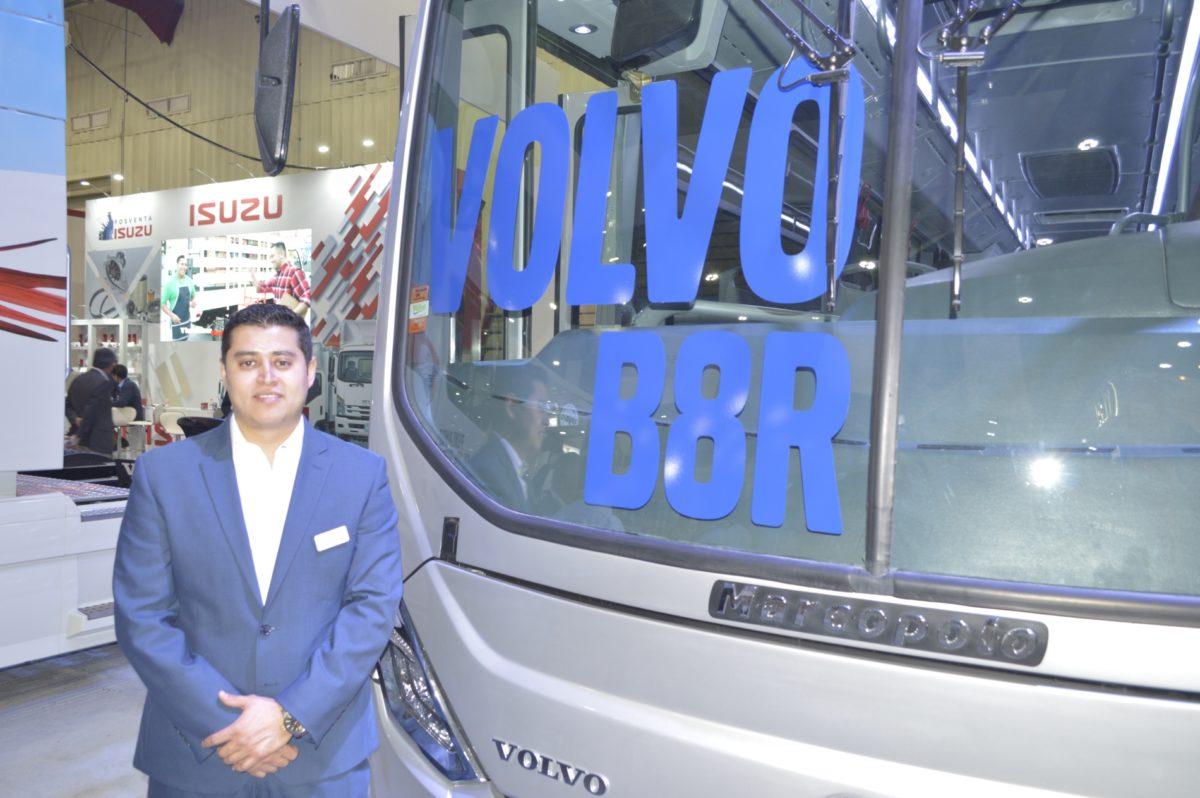 Volvo Buses, con una nueva variante para transporte masivo