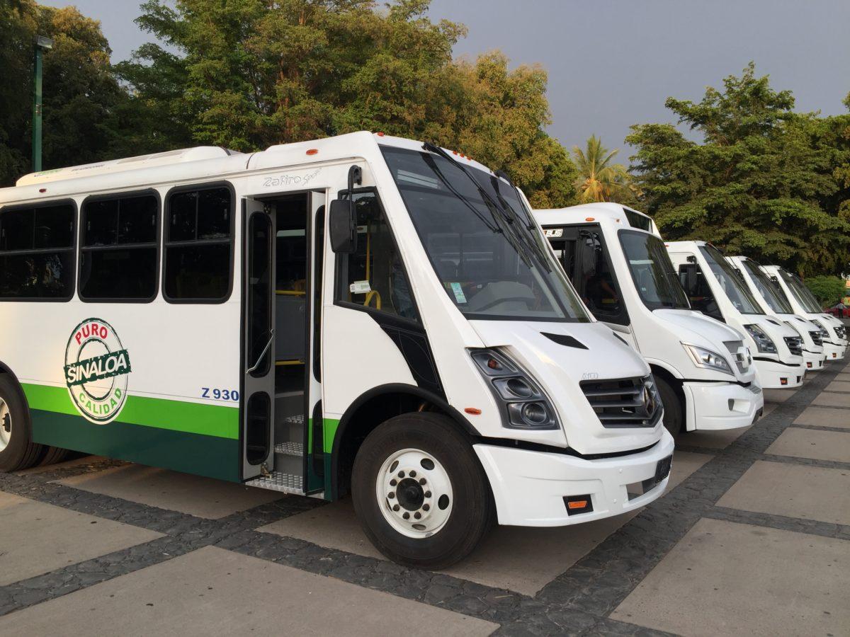Sinaloa renueva transporte público con Mercedes-Benz