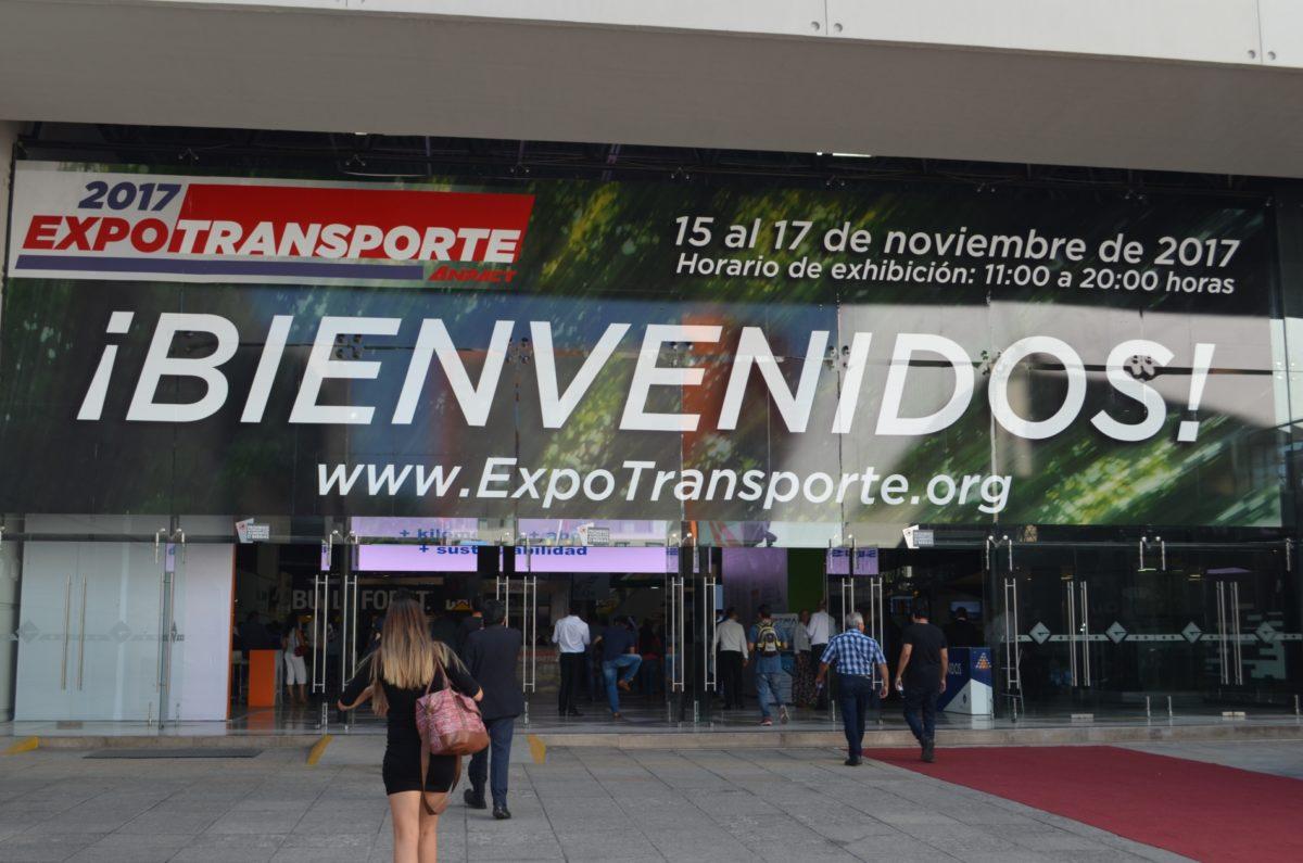 100 % de espacios de exhibición, vendidos para Expo Transporte