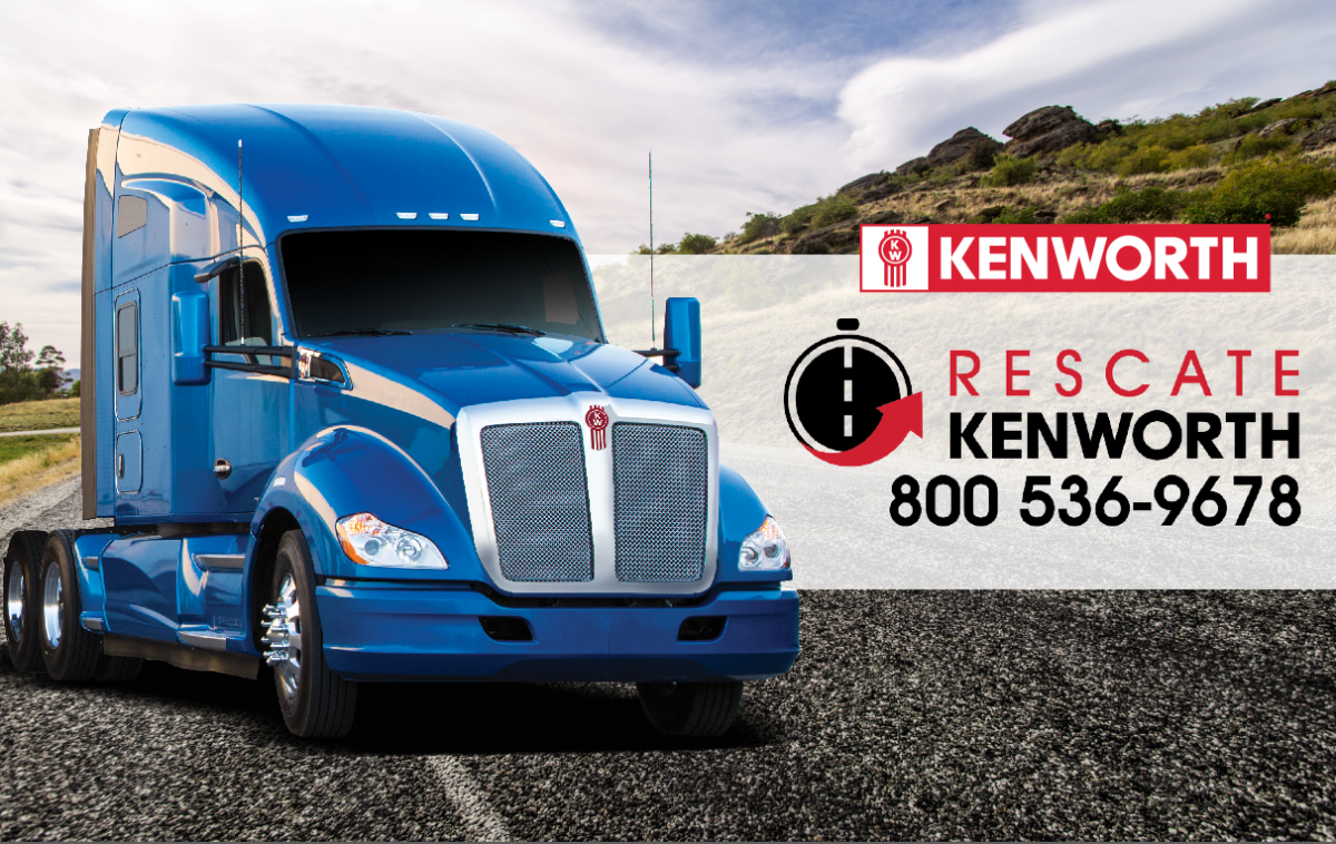 Nueva marcación para el servicio de Kenworth Mexicana